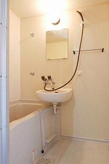 【浴室】《満室高稼働!木造9.52%》福岡県太宰府市朱雀2丁目一棟アパート