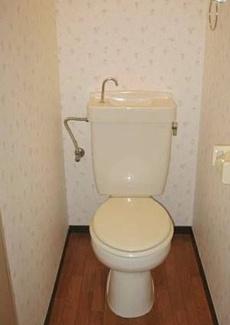 【トイレ】《満室高稼働!木造9.52%》福岡県太宰府市朱雀2丁目一棟アパート