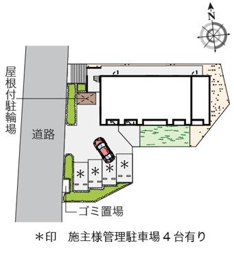 【区画図】レオネクスト湘南町屋Ⅱ