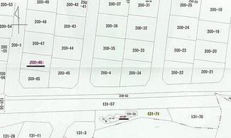 【土地図】広島市安佐北区可部東3丁目 可部第二東亜ハイツ