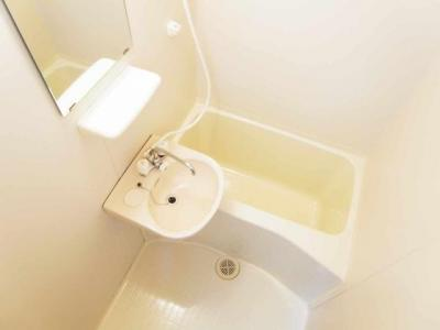 【浴室】レオパレスリブェール