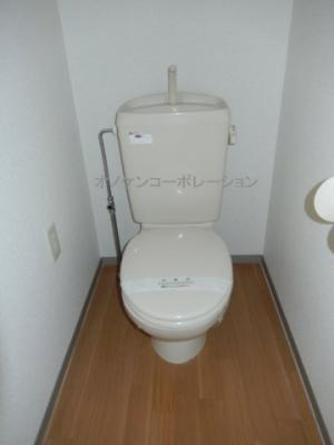 【トイレ】コーポシンエイ