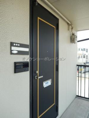 【玄関】コーポシンエイ