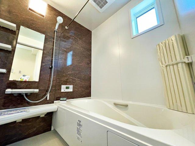【浴室】板橋区西台1丁目 6,280万円 新築一戸建て【仲介手数料無料】