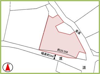 【区画図】中城村字泊
