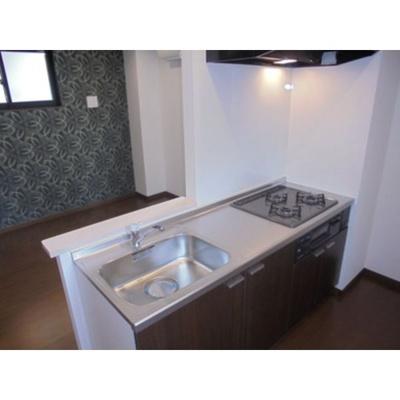 【キッチン】グランレーヴ平安通SOUTH