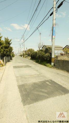 【前面道路含む現地写真】ケイアイフィット国分町1期 1号棟