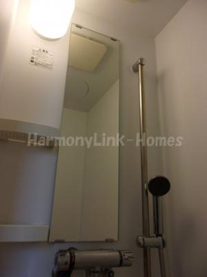 シャンブル東新宿の日々の暮らしに欠かせないシャワールームです