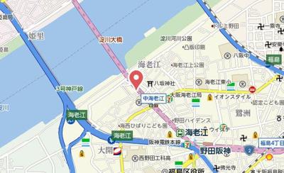 【地図】グランデフィオーレ