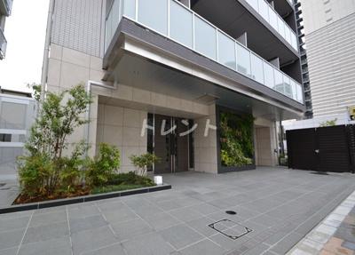 【エントランス】ジェノヴィア新宿グリーンヴェール
