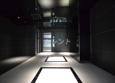 【ロビー】ジェノヴィア新宿グリーンヴェール