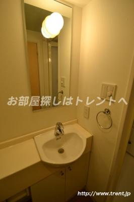 【洗面所】レジデンシャルステージ東新宿