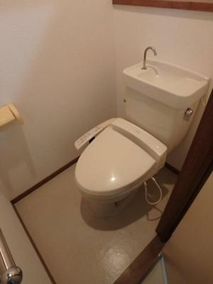【トイレ】ウィスタリアハイツ