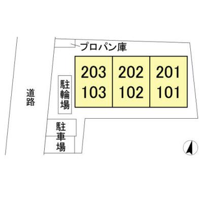 【区画図】Tサクセッソ
