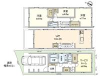 JR南武線「久地」駅 新築一戸建 B号棟の画像