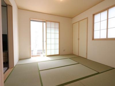 和室がひろがる居住スペース 吉川新築ナビで検索
