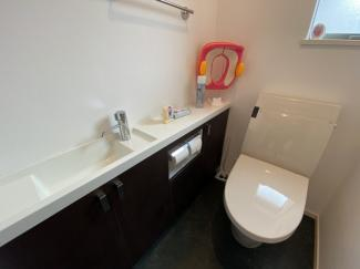 ゆったりとしたトイレ