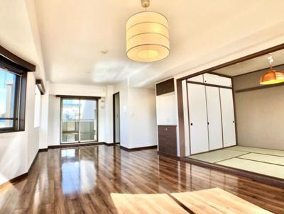 【居間・リビング】本山パークハウス1番館