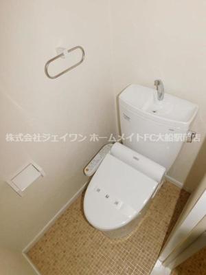 【トイレ】マーガレット中野