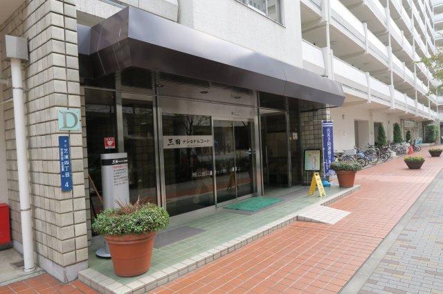 【エントランス】三田ナショナルコート