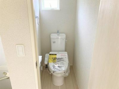 【トイレ】【20万円キャッシュバック対象物件】リナージュ 生駒郡斑鳩町龍田北20-1期 全2棟