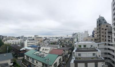 9階建ての7階にあるお部屋ですので眺望も良好です。