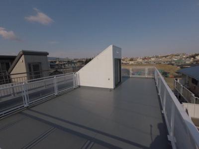 屋上です。日当たりも良好です。