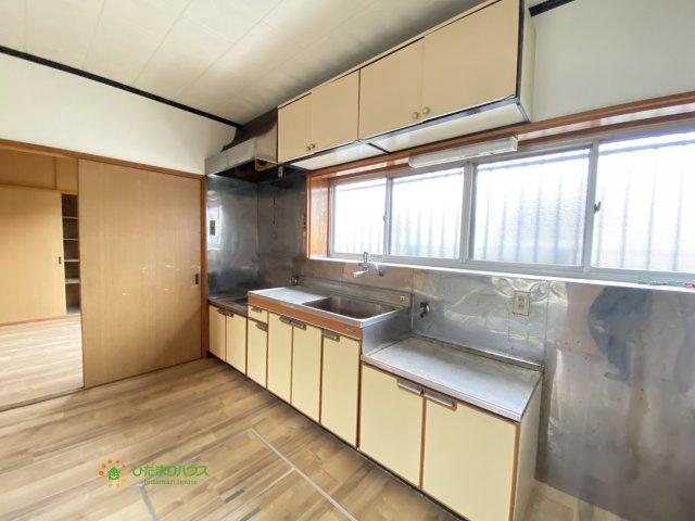 【キッチン】久喜市栗橋東3丁目 中古一戸建て