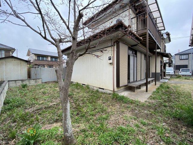 【庭】久喜市栗橋東3丁目 中古一戸建て