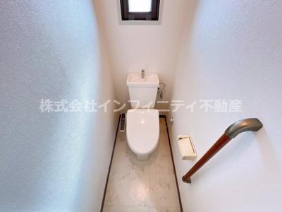 使い勝手のいいトイレです