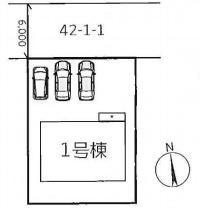 【区画図】神戸市垂水区つつじが丘2丁目 新築戸建