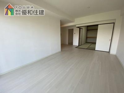 【居間・リビング】ライオンズマンション西舞子