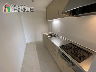 【キッチン】ライオンズマンション西舞子
