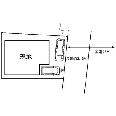 【区画図】那珂川市後野2丁目