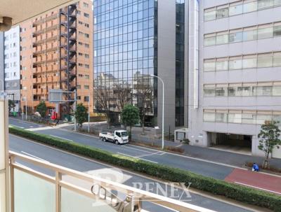 グローリオ東新宿の展望です