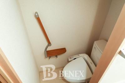 ハーヴェスト河田町のトイレです
