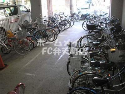 自転車置場です