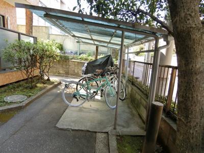 【駐輪場】市ヶ谷第3ローヤルコーポ