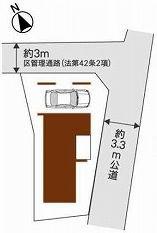 【区画図】北区滝野川1丁目 新築戸建