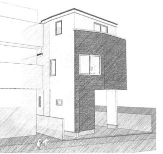 ◇Appearance◇土地の特徴を最大限活かす建物プランをご提案しております。スリット窓を活用するなど、採光もトコトンこだわります!