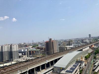 【展望】武蔵浦和SKY&GARDEN C棟