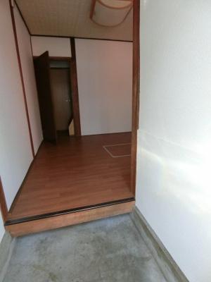 【玄関】野崎1丁目テラスハウス