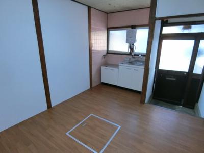 【キッチン】野崎1丁目テラスハウス