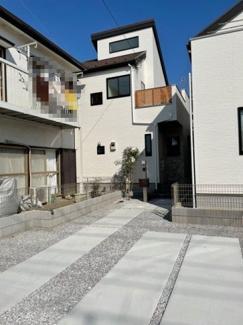 【外観】町田市成瀬台2丁目戸建
