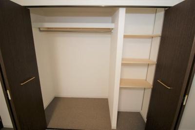 大きな収納です 部屋ごとに設けた収納は住みやすさへのこだわり