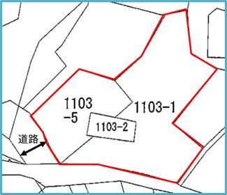【区画図】中城村久場