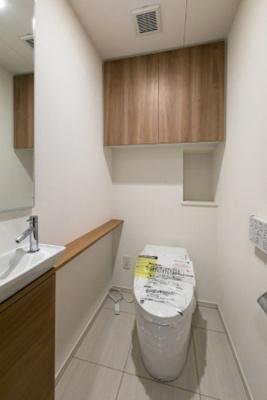 【トイレ】パークホームズ日本橋人形町ザレジデンス