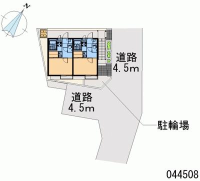【区画図】レオパレスコトブキ