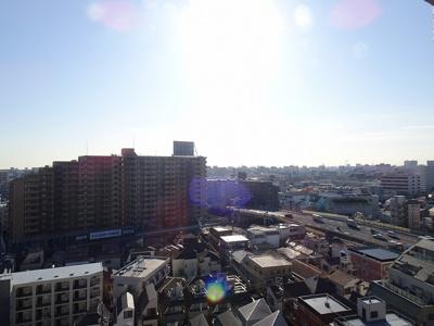 東南向き12階部分のため、陽当たり・眺望良好です。