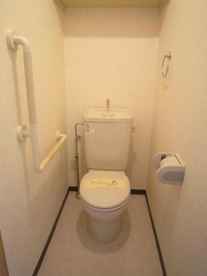 トイレはウォシュレト付きです。